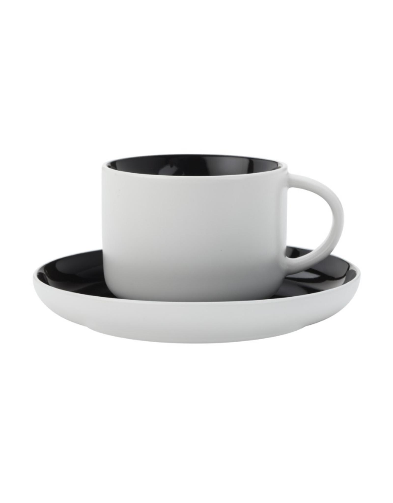 Maxwell Williams Tasse à cappuccino 250ml Tint noire