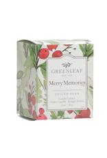 Greenleaf Chandelle parfumée 'Merry Memories'