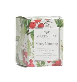 Greenleaf Chandelle parfumée 'Merry Memories'