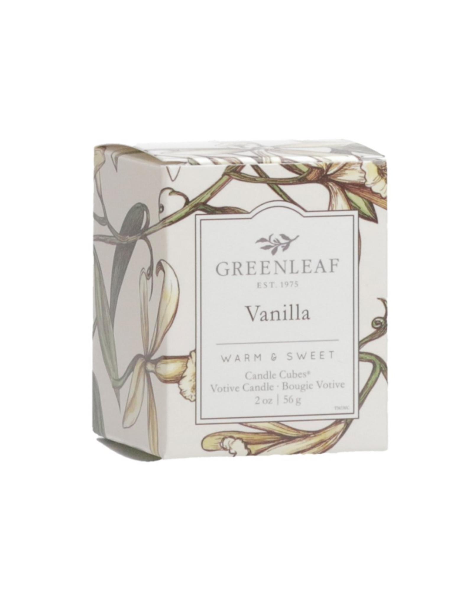 Greenleaf Chandelle parfumée 'Vanille'