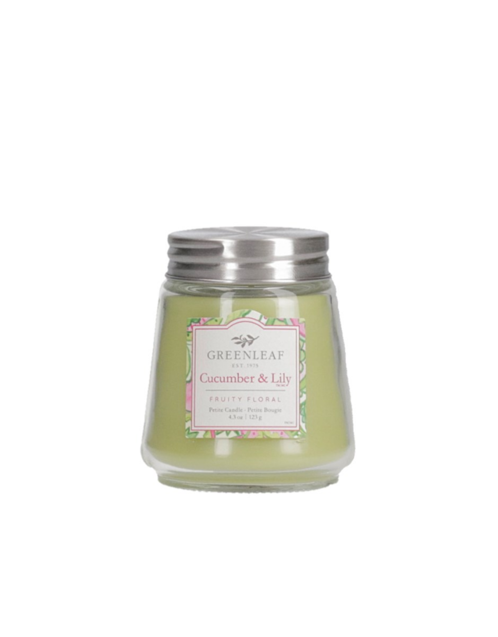 Greenleaf Petite chandelle parfumée 123g