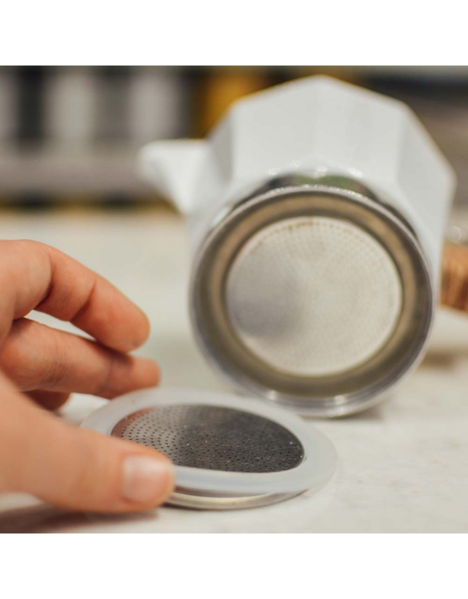 Grosche Joint d'étanchéité et filtre pour cafetière espresso