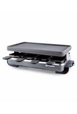 Swissmar Raclette noire avec plaque en fonte