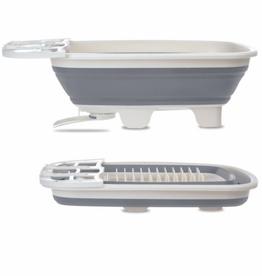 Starfrit Égouttoir à vaisselle repliable avec drain pivotant