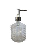 Pompe à savon en verre 490ML clair