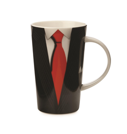 Maxwell Williams Tasse 'Gentleman' 420ML noir