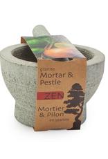 Mortier et pilon en granite 5.75'' / 12cm