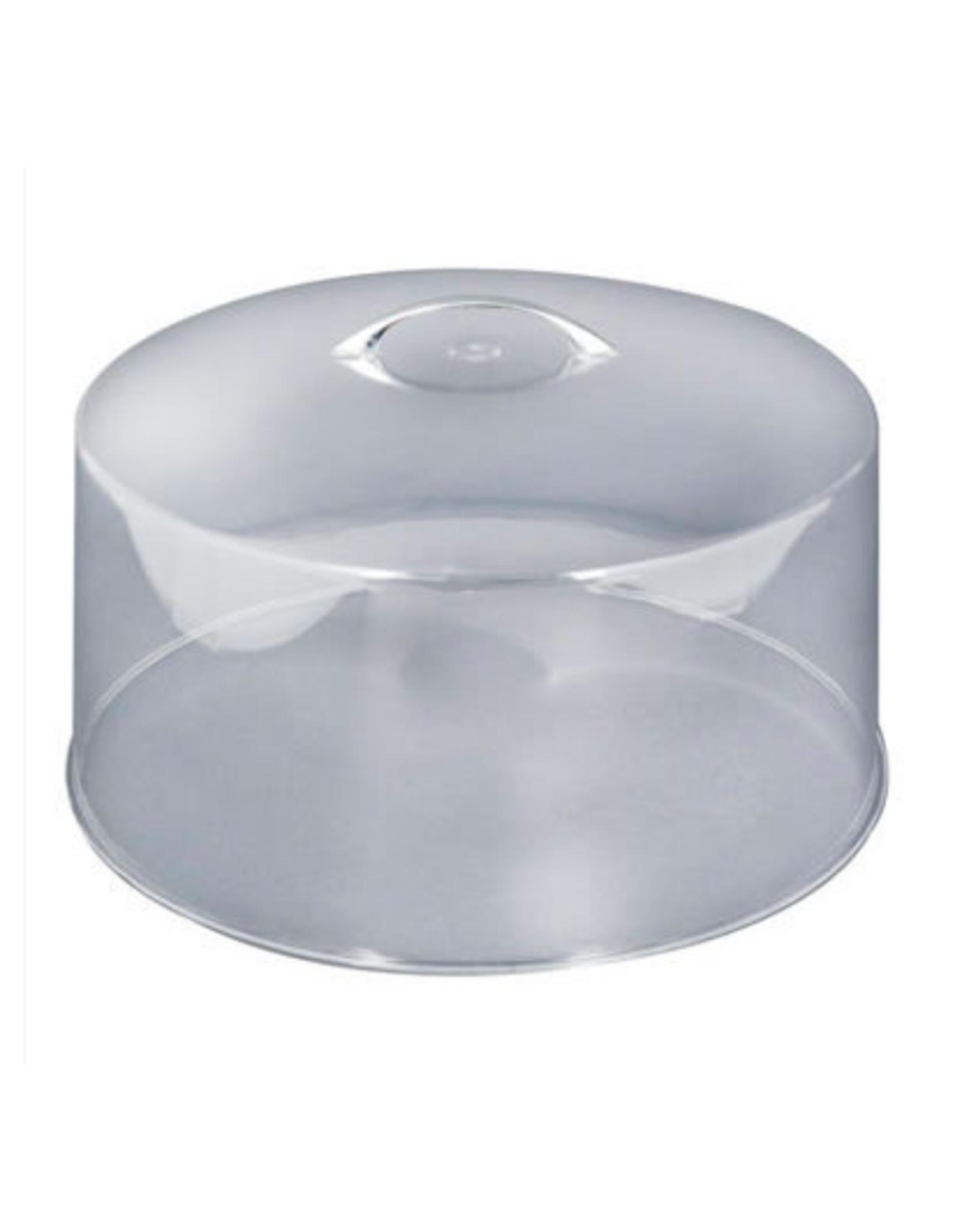 Cloche à gâteau dôme en plastique
