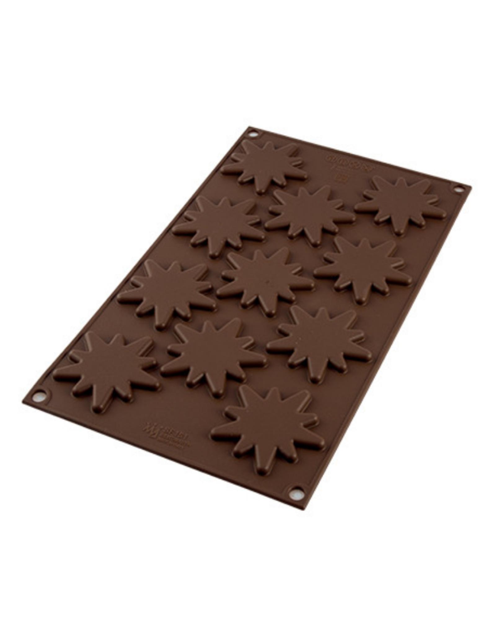 Silikomart Moule en silicone à chocolats flash