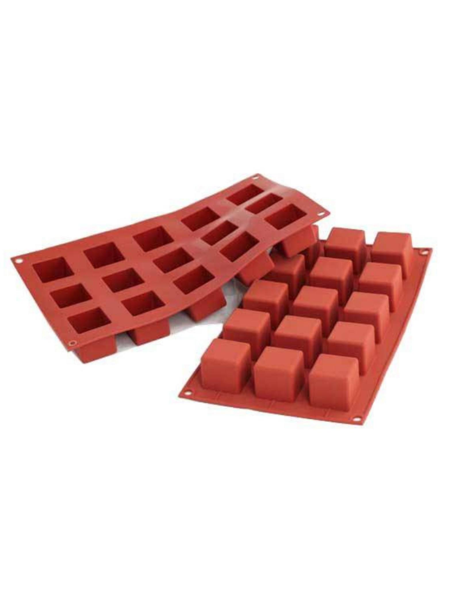 Silikomart Moule en silicone cube 35MM