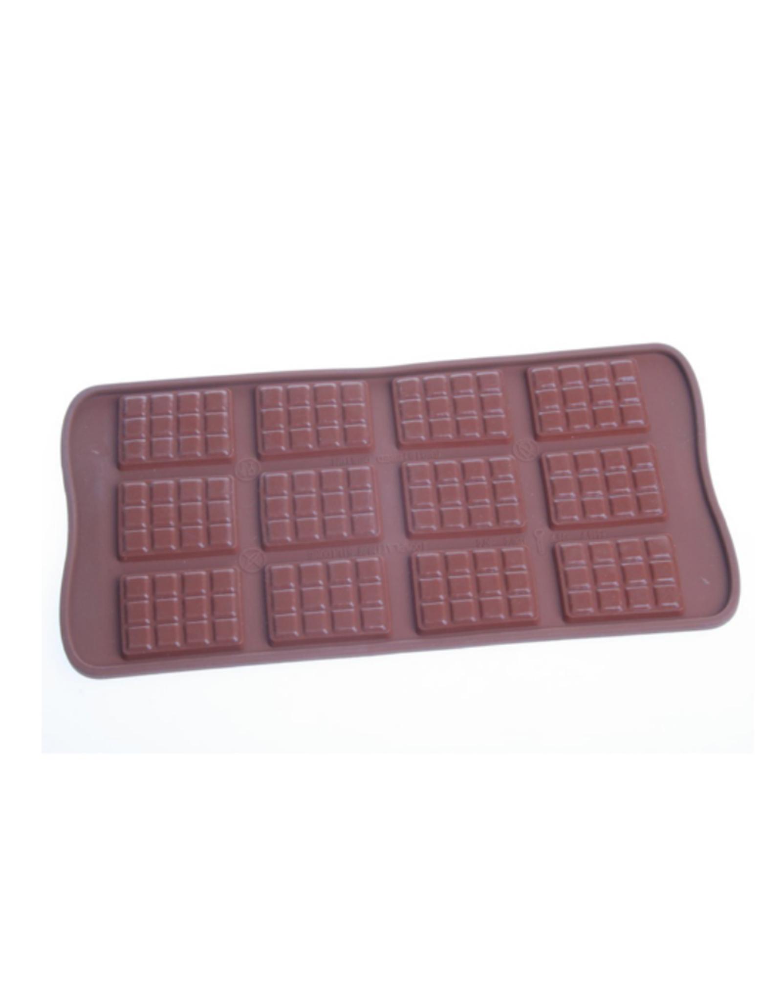 Moule en silicone à chocolats gaufrés