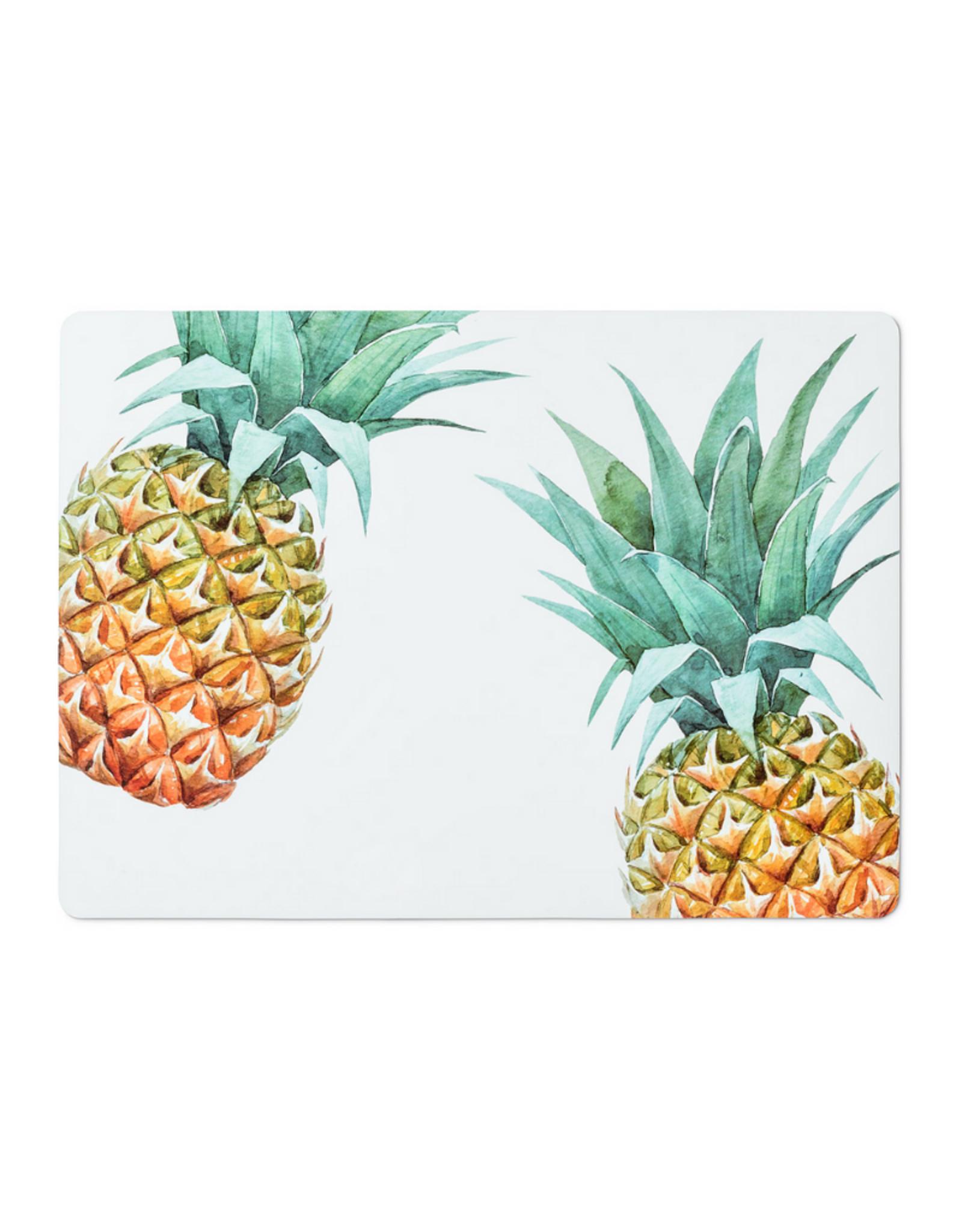 Abbott Napperons blanc avec ananas