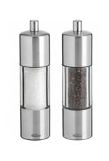 Trudeau Ens. moulins à sel et poivre 'Adagio' Trudeau en stainless 7.5''