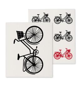 Abbott Ens. 2 linges en cellulose - Bicyclettes