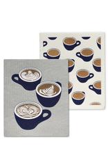 Abbott Ens. 2 linges en cellulose - Tasses de café