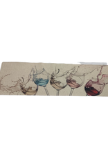 Avocado Decor Tapis 50 x 150cm Coupes de vin