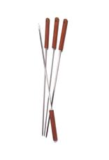 Brochettes avec manche en bois 20''