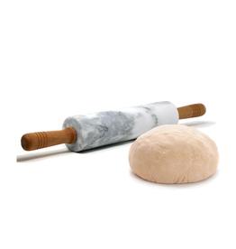 Rouleau à pâte en marbre 48.5cm x 6cm