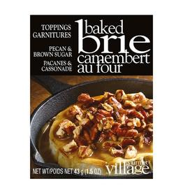 Gourmet du Village Garniture pour brie - pacanes et cassonade