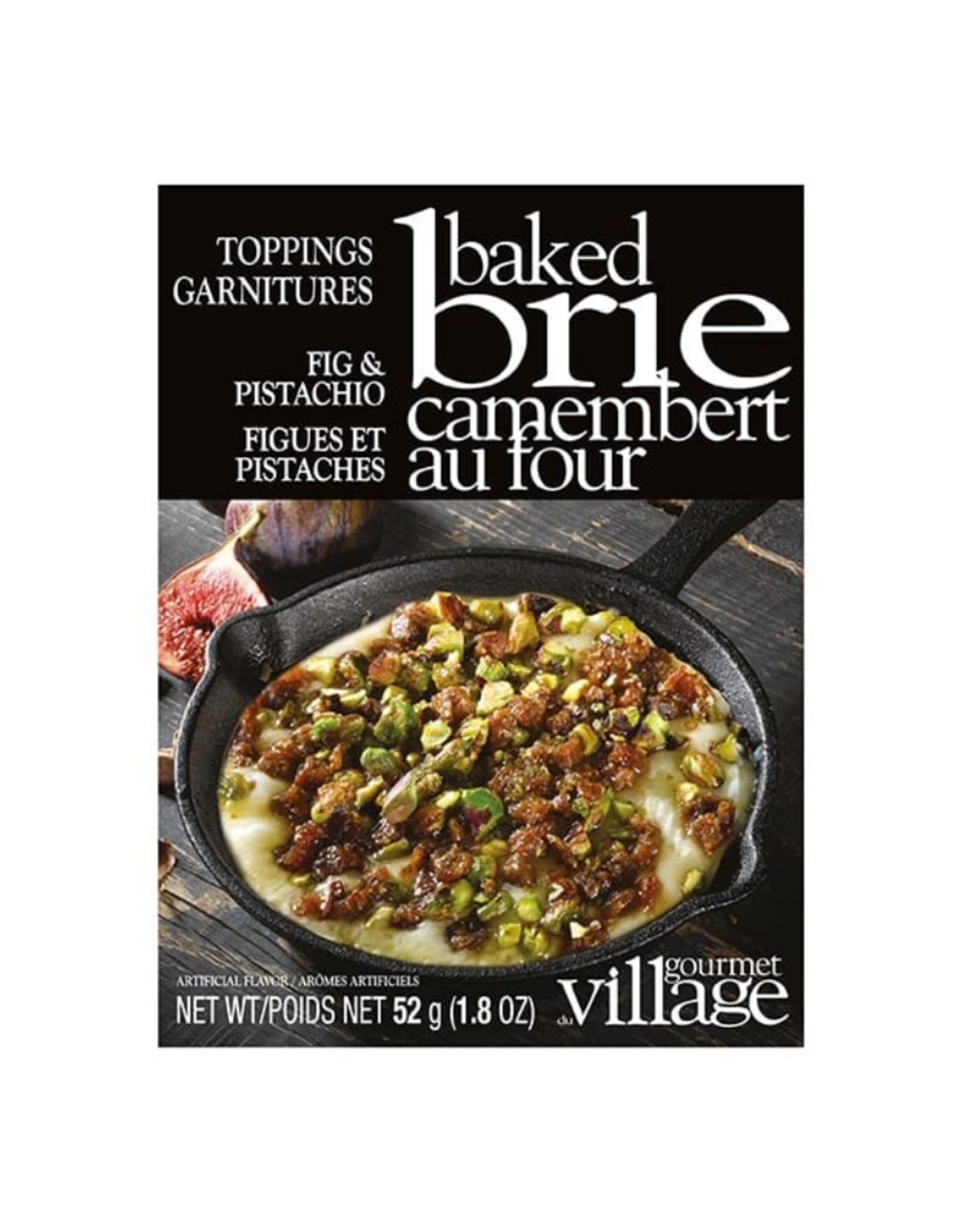Gourmet du Village Garniture pour Brie - Figues et pistaches