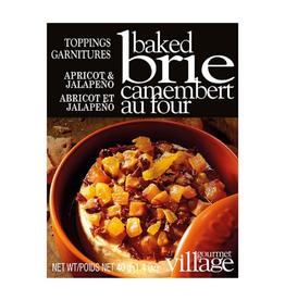 Gourmet du Village Garniture pour brie - abricots et jalapeno