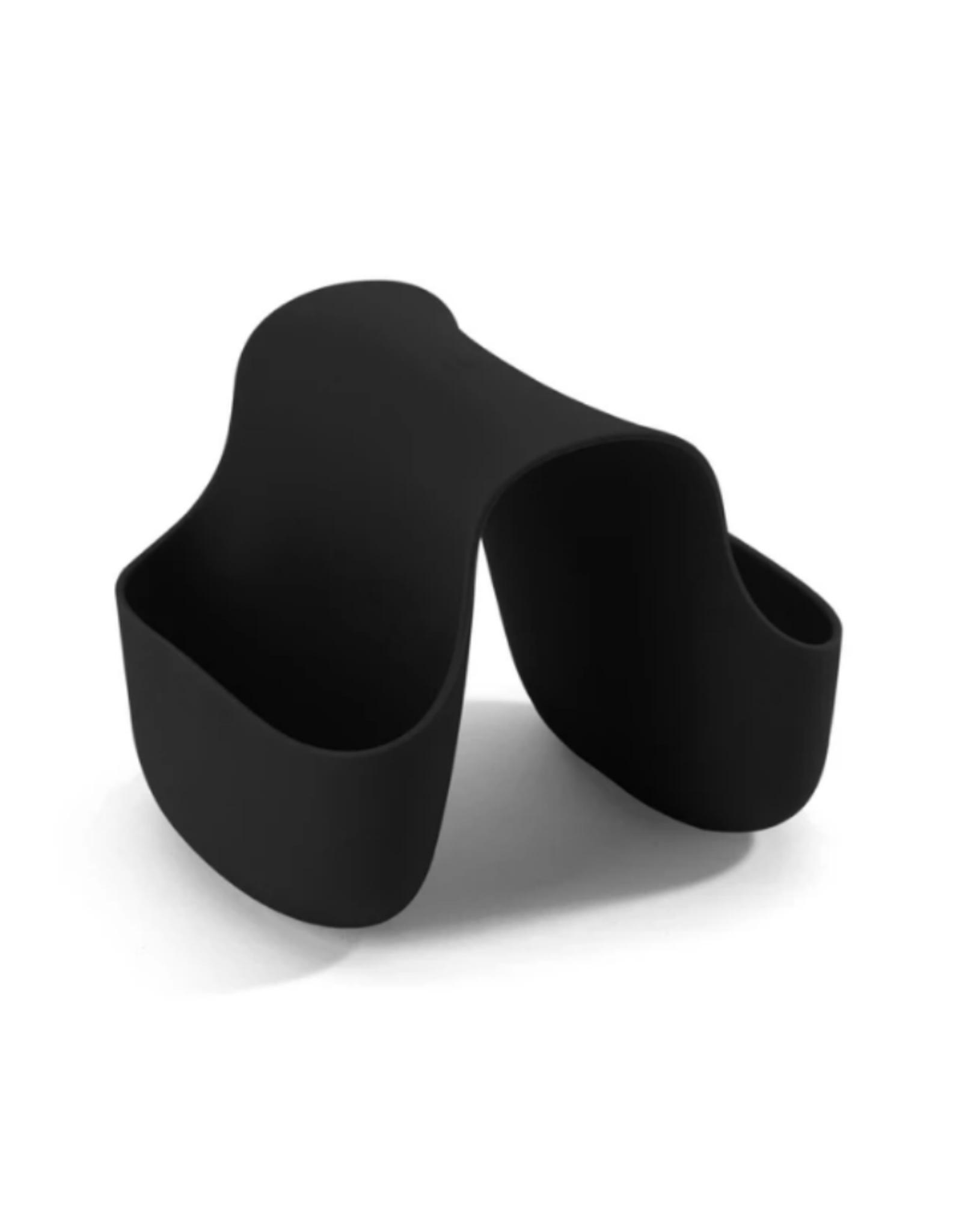 Umbra Support à éponge pour évier double 'Saddle' noir