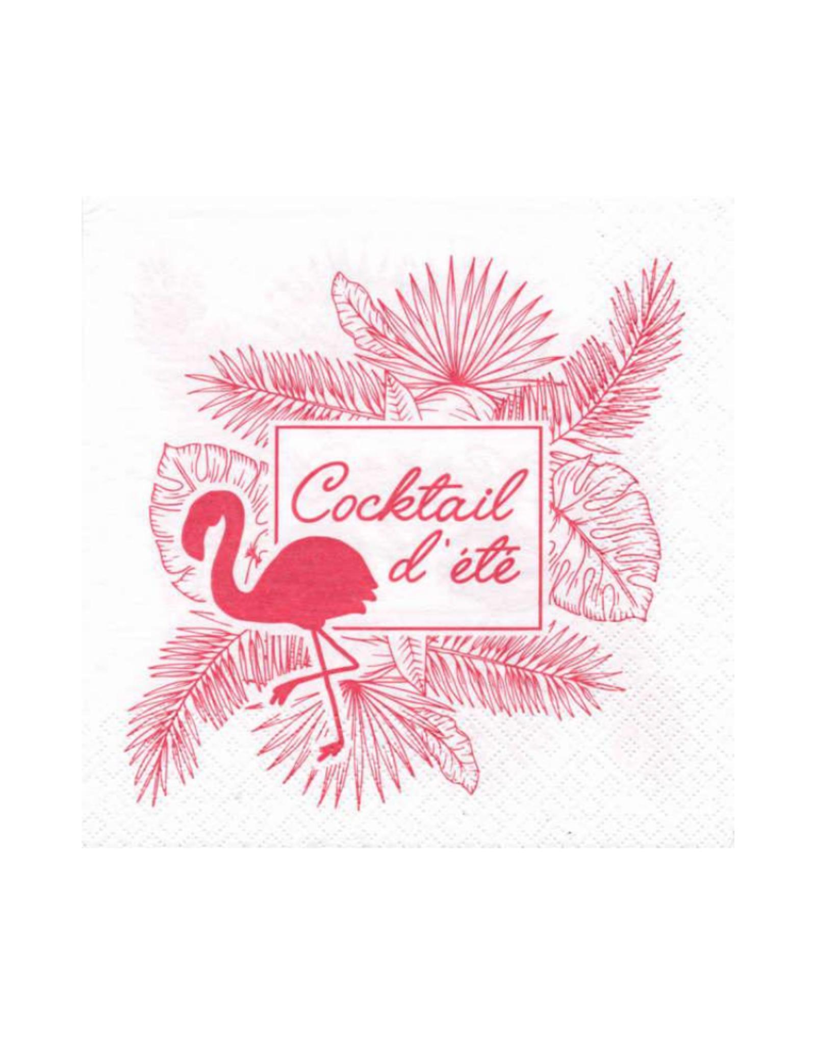 Serviettes en papier - Cocktail d'été
