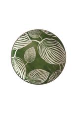 Maxwell Williams Assiette 26.5cm Panama sur fond vert