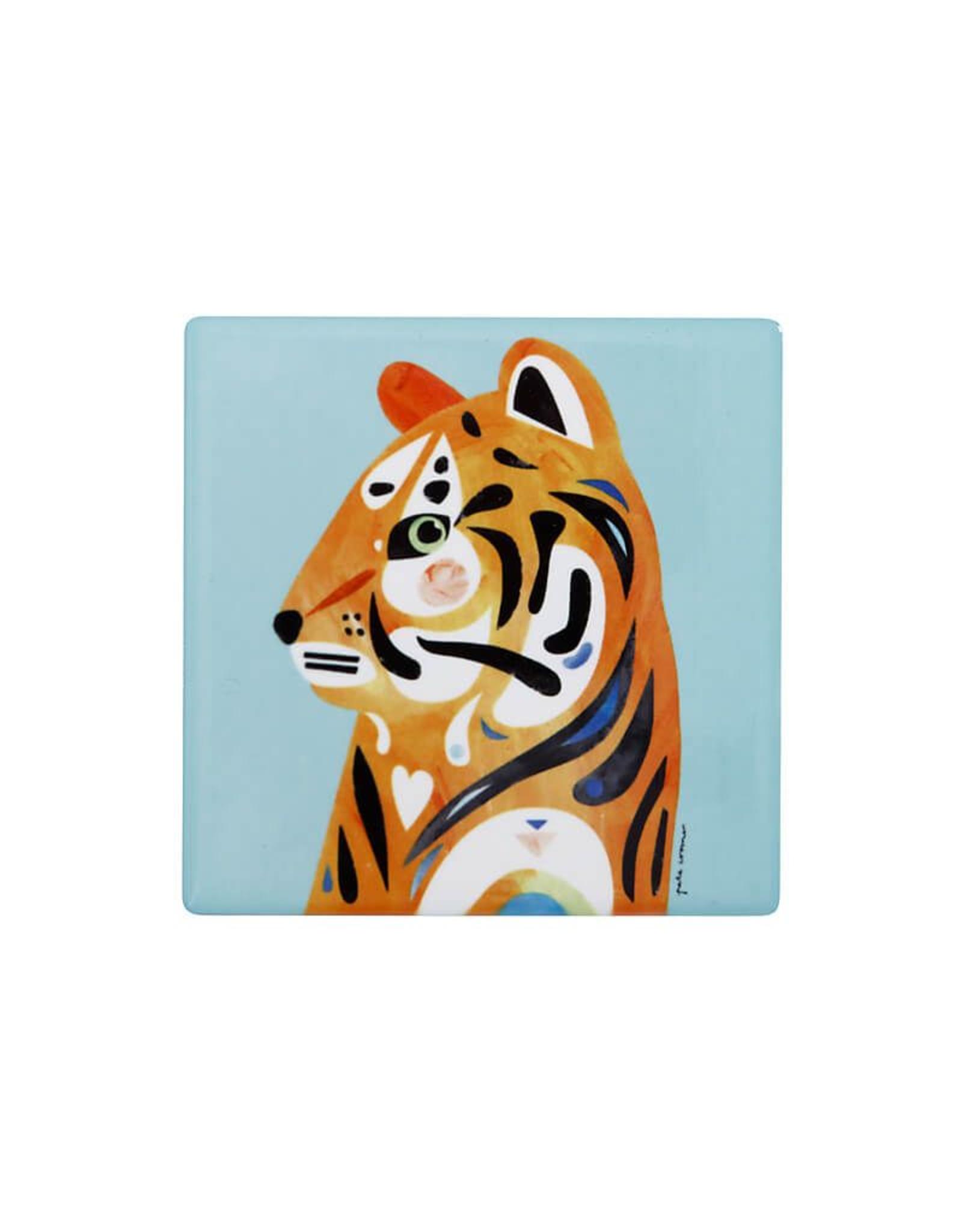 Maxwell Williams Sous-verre collection Faune - Tigre