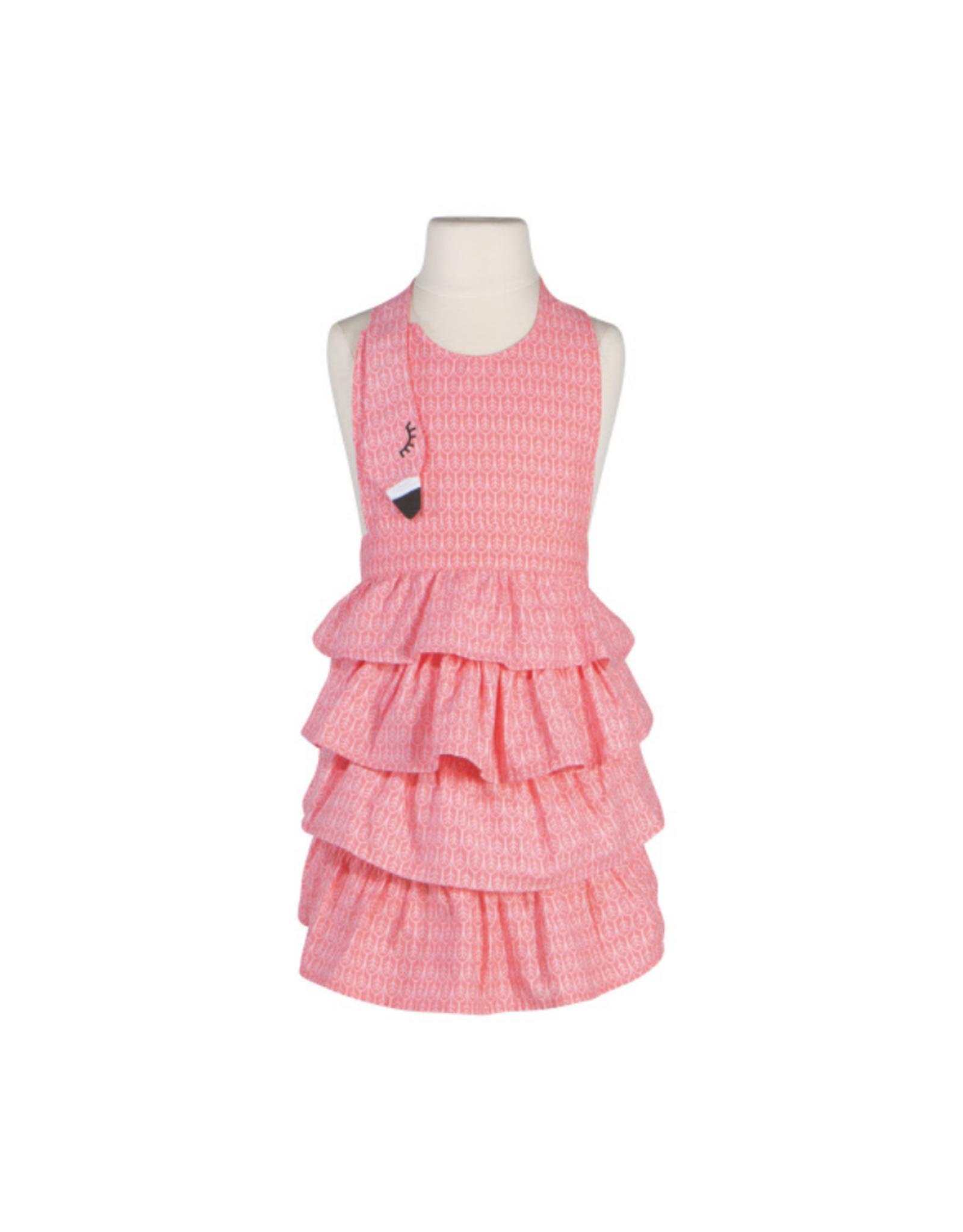 Now Designs Tablier pour enfant 'Daydream' flamant rose