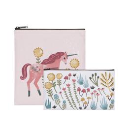Now Designs Ens. sacs à collation (2) Licorne