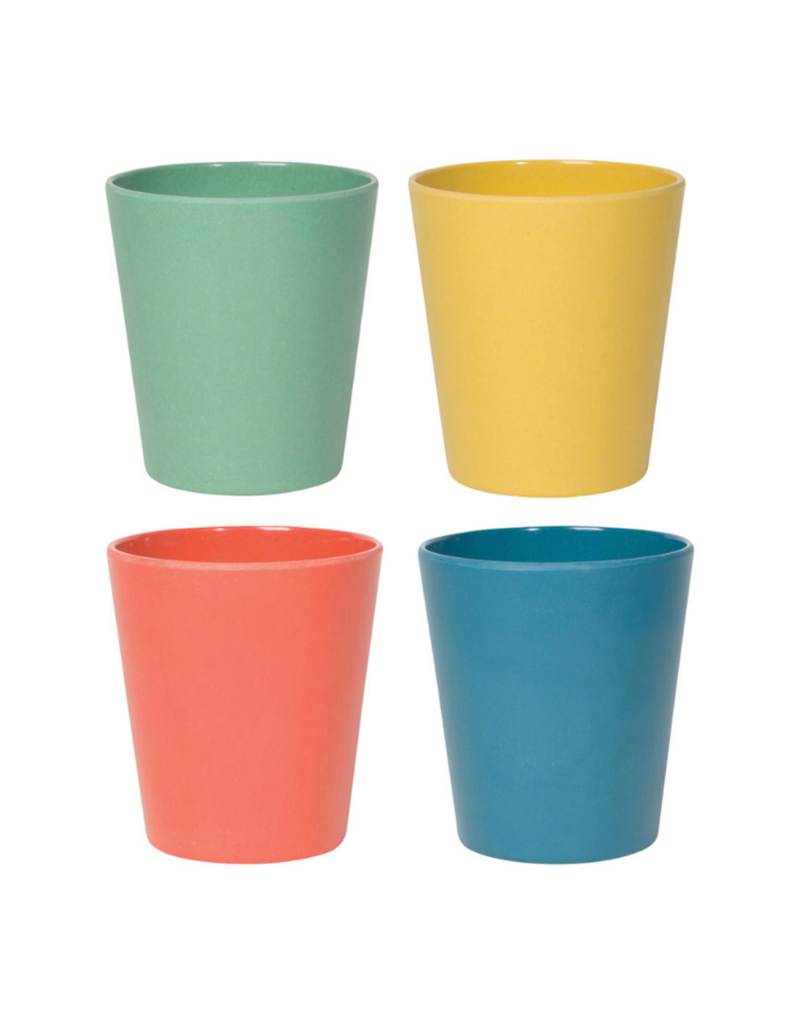 Now Designs Ens. 4 verres Planta Fiesta