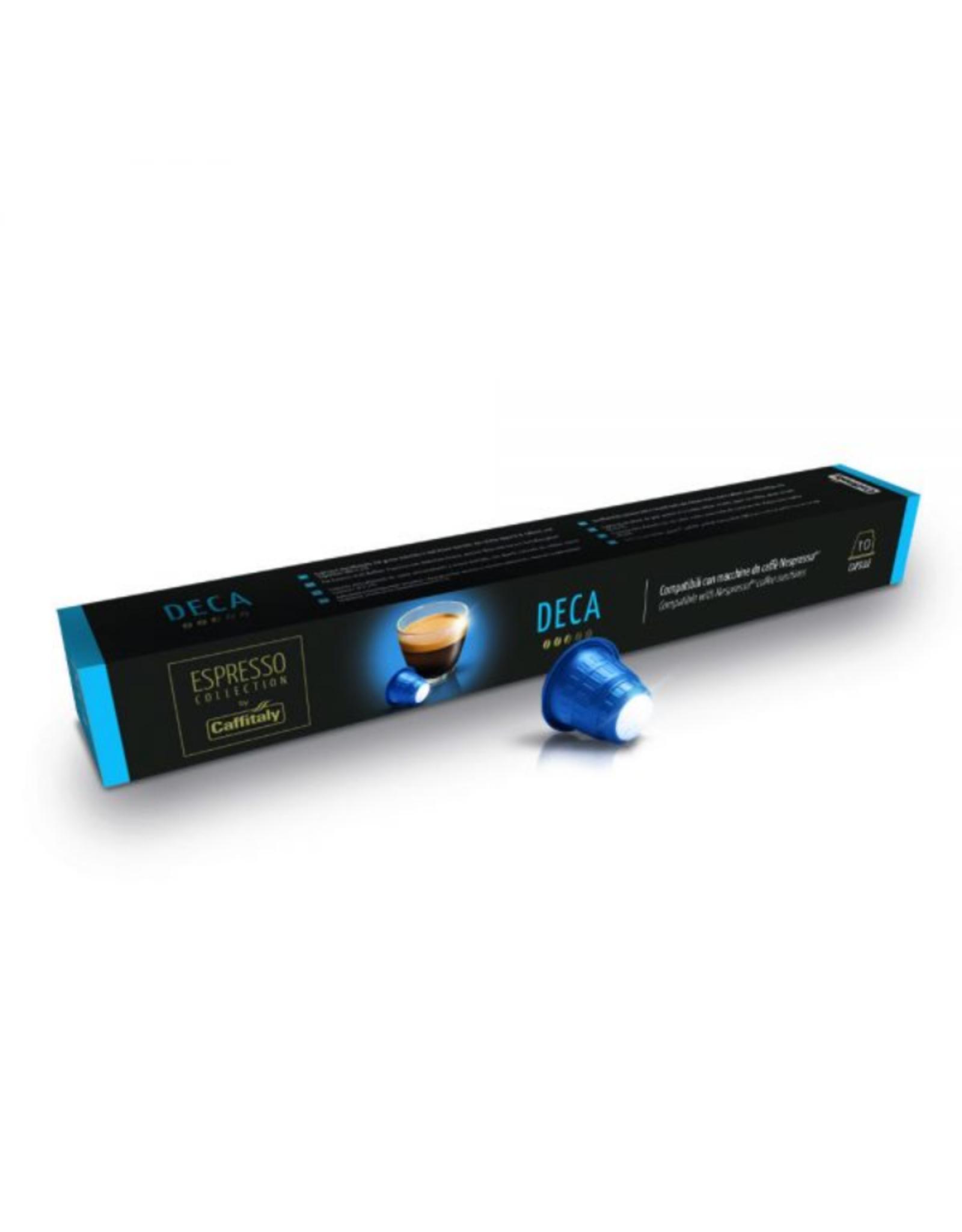 Caffitaly Capsules de café compatibles Nespresso Deca