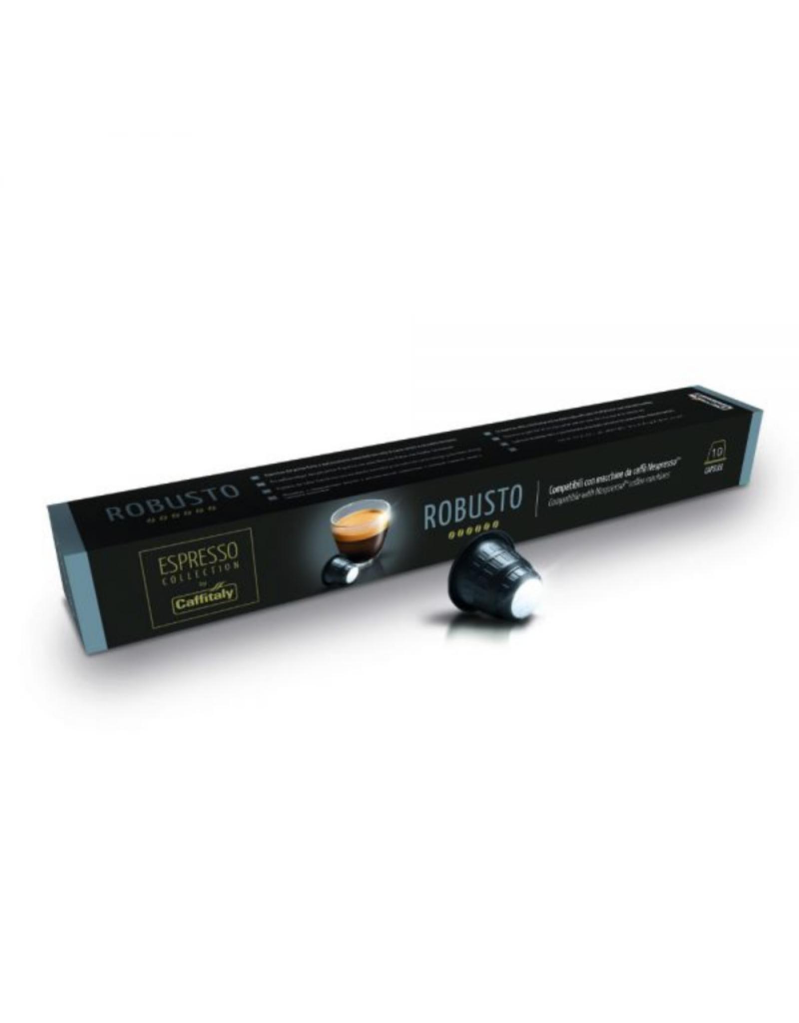 Caffitaly Capsules de café compatibles Nespresso Robusto