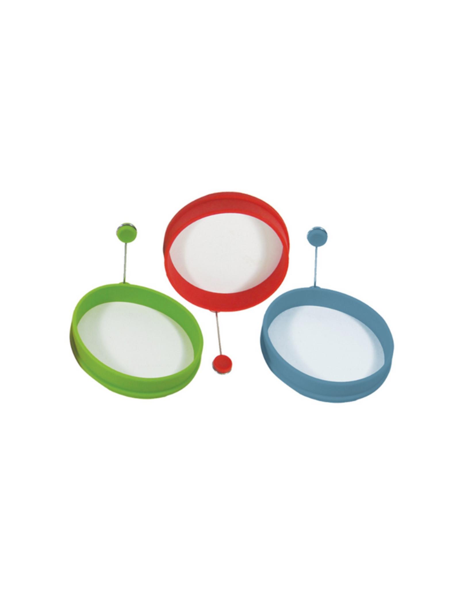 Découpe-oeufs en silicone Kitchen Colours vert