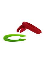 Kuhn Rikon Équeuteur à fraises/tomates en pince rouge