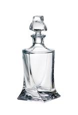 Trudeau Carafe à whisky Quadro Bohemia
