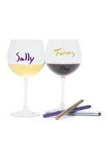 Ens. 3 crayons marqueurs à vin