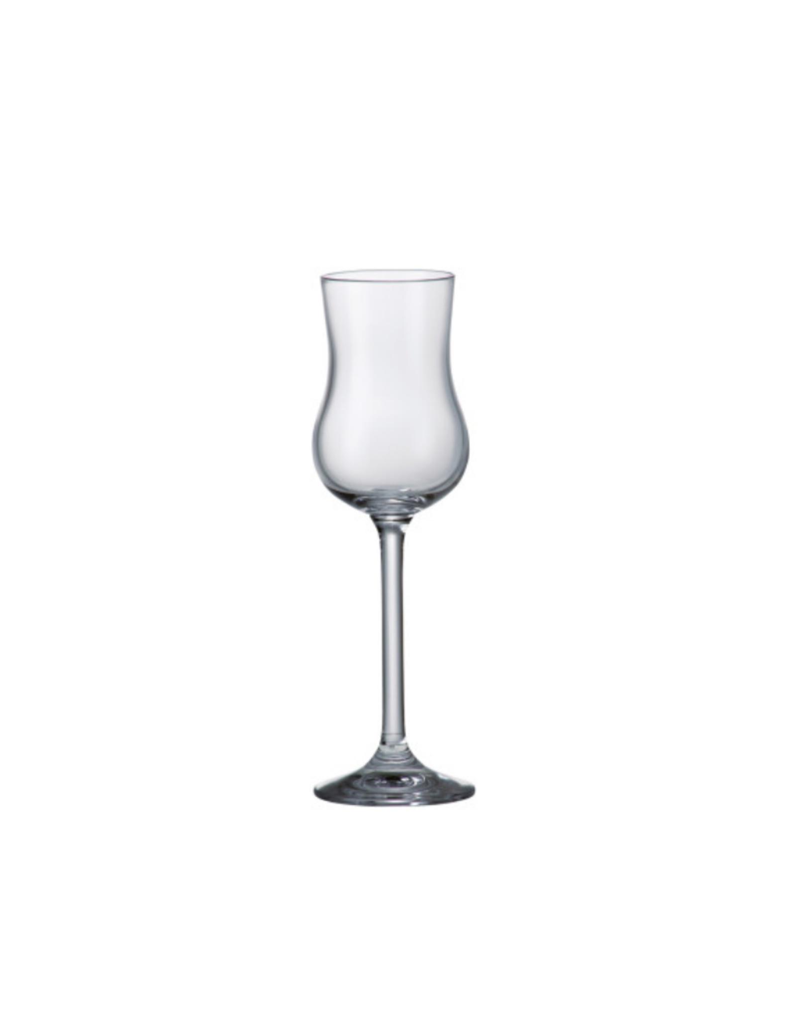 Ens. 6 verres à Grappa 85ml