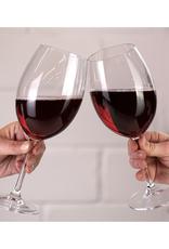 Ens. 4 coupes à vin rouge 580ml Vinum