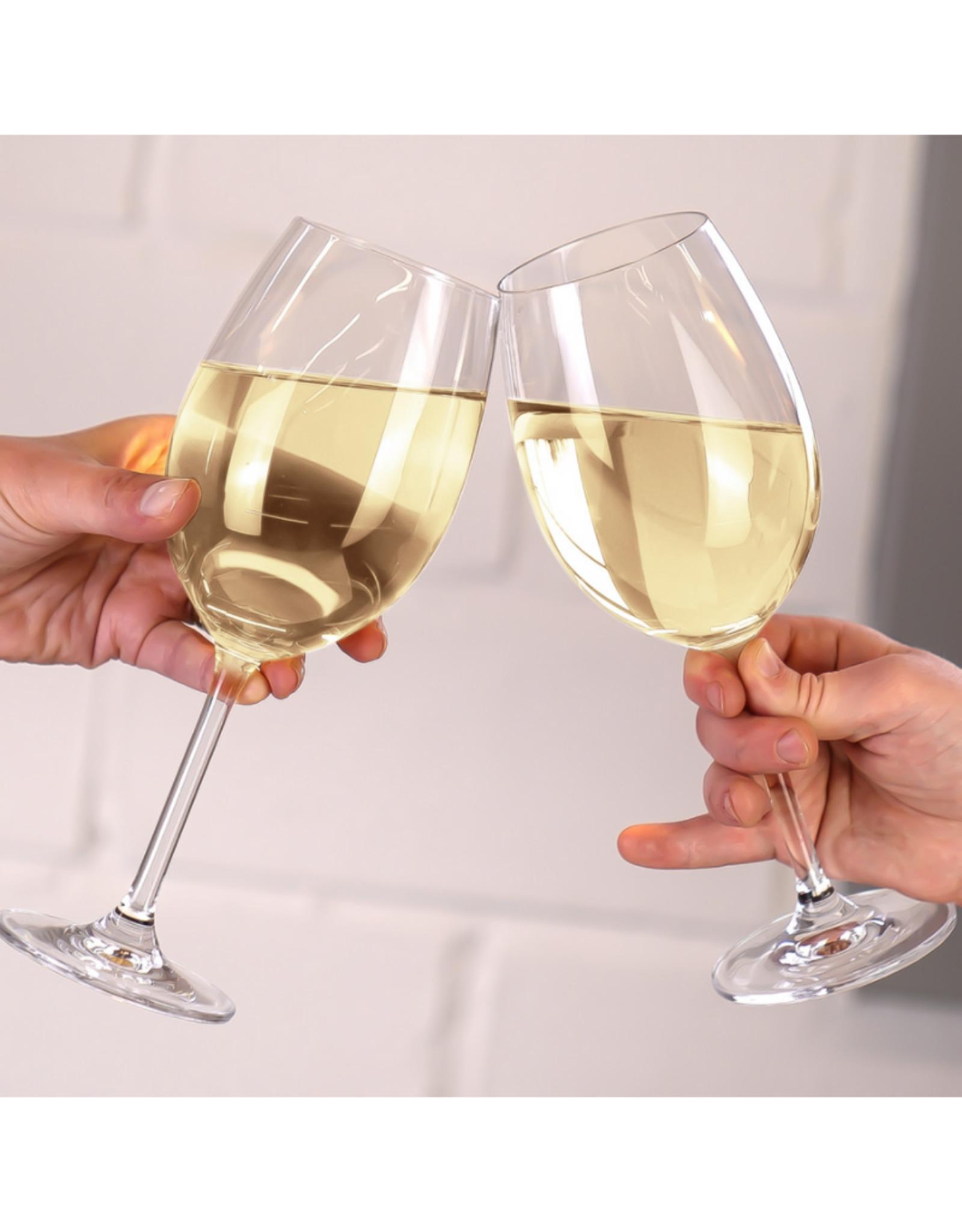 Ens. 4 coupes à vin blanc 450ml Vinum