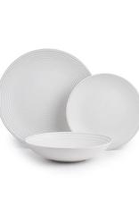 Ens. vaisselle 12 pièces - Spirale