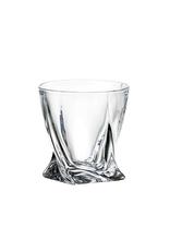 Ens. 6 verres Old Fashion Quadro 340ml