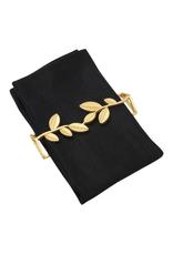 Ens. 4 anneaux plats pour serviettes de table