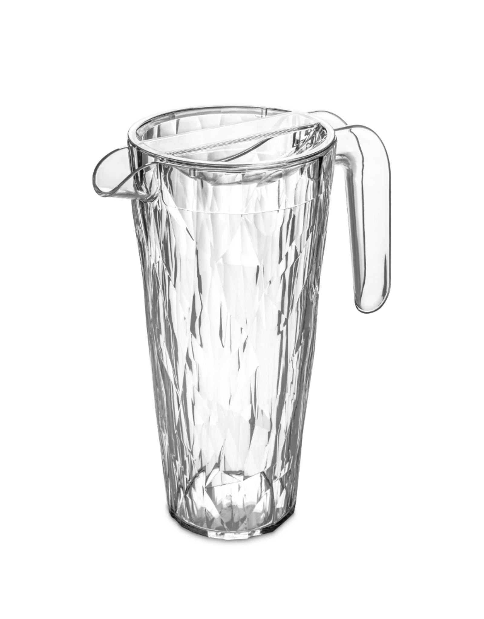 Koziol Pichet 1.5L 'Superglass' Club clair