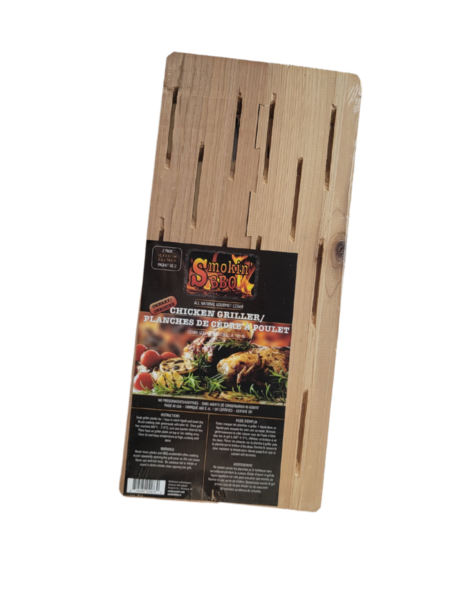 Planches de cèdre pour poulet (2)