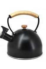 Bouilloire sifflante 2.5L noire
