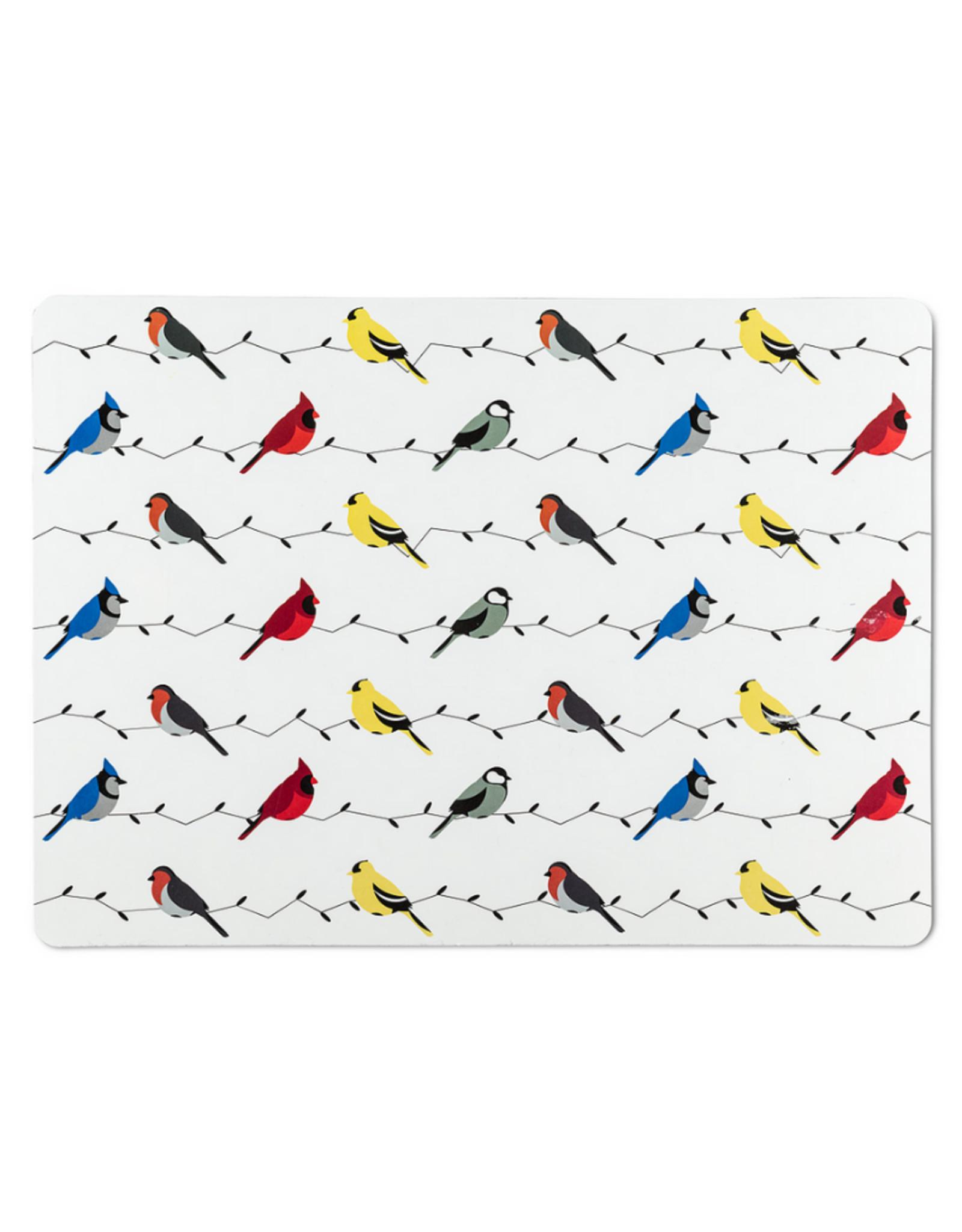 Abbott Napperons oiseaux colorés