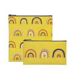 Now Designs Ens. 2 sacs à collation 'Rainbows'