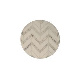 Highland Home Sous-verre ''modern art'' chevrons gris et marbre
